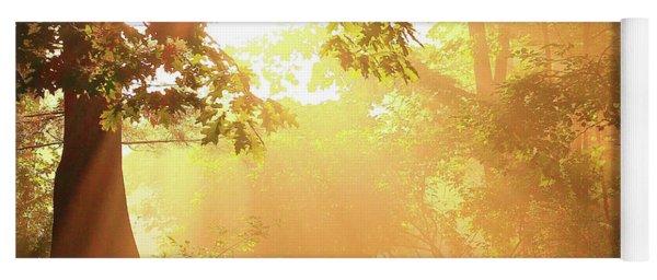 Tree Light-god's Rays Yoga Mat