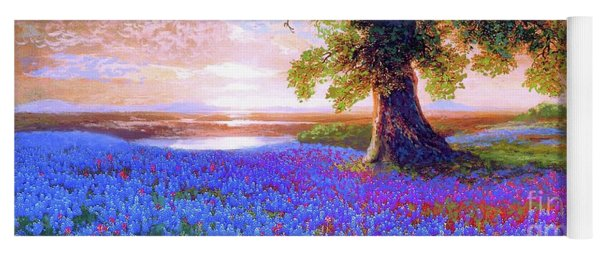 Tree Of Tranquillity Yoga Mat