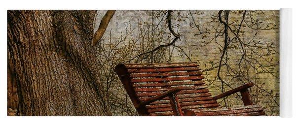 Tree Swing By The Lake Yoga Mat