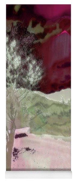 Tree Witness To Lake At Dawn Yoga Mat
