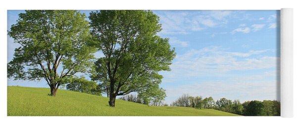 Summer Trees 3 Yoga Mat