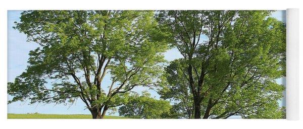 Summer Trees 4 Yoga Mat