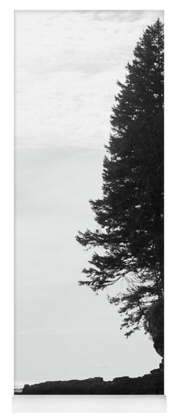 Trees Over The Ocean Yoga Mat