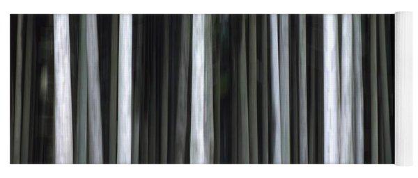 Trees Trunks Yoga Mat