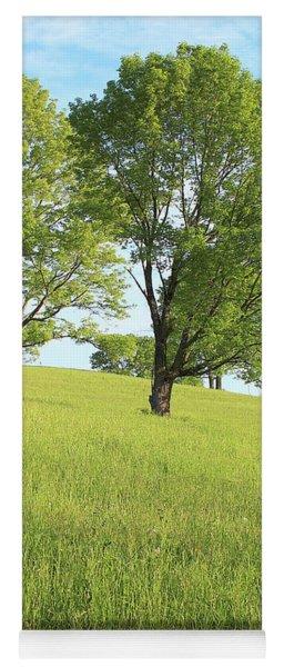 Summer Trees 2 Yoga Mat