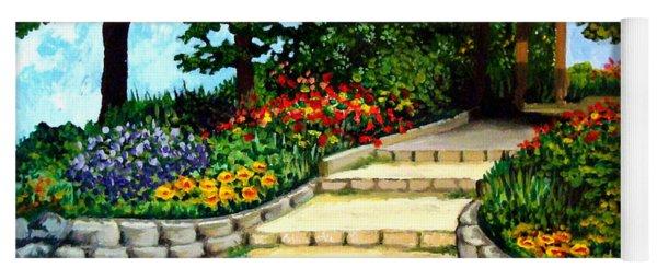 Trellace Gardens Yoga Mat