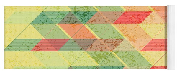 Triangles Pattern Yoga Mat