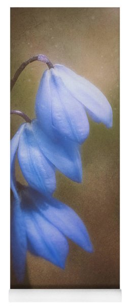 Trio Of Spring Flowers Yoga Mat