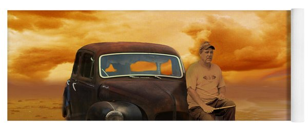 Trippin' With My '48 Austin A40 Yoga Mat