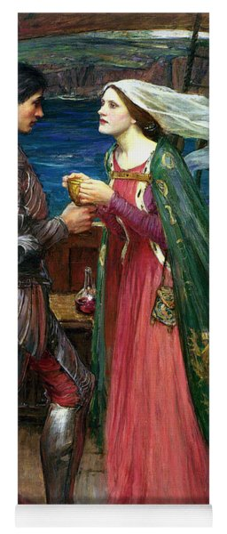 Tristan And Isolde With The Potion Yoga Mat