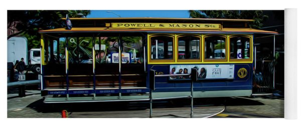 Trolley Car Turn Around Yoga Mat