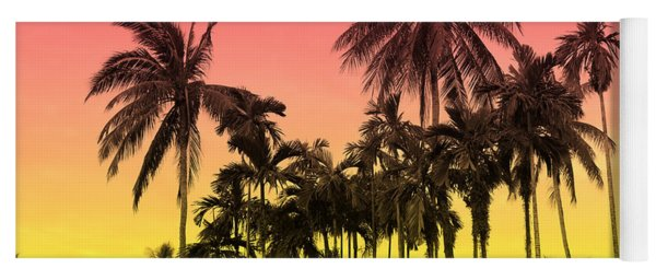 Tropical 9 Yoga Mat