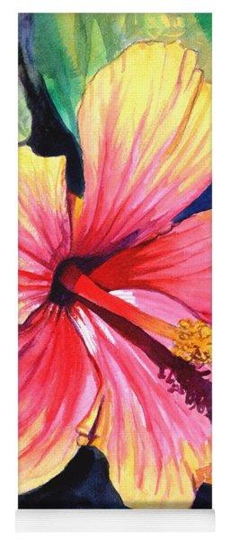 Tropical Bliss Hibiscus 2 Yoga Mat