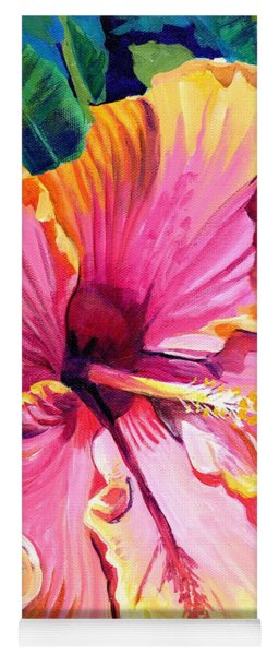 Tropical Bliss Hibiscus Yoga Mat