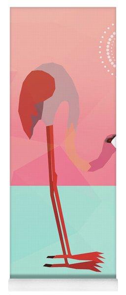 Tropical Flamingo Yoga Mat