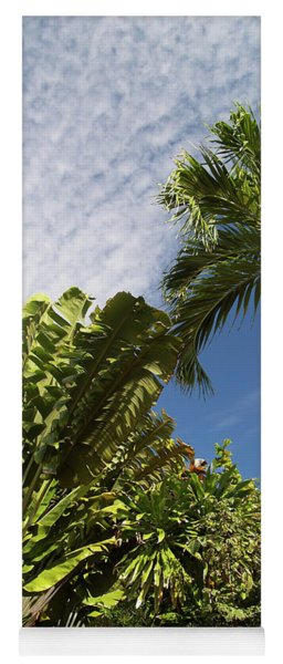 Tropical Foliage Yoga Mat
