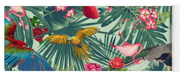 Tropical Fun Time  Yoga Mat