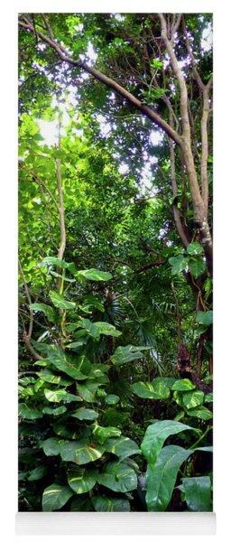 Tropical Garden Yoga Mat