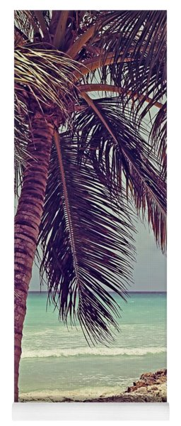 Tropical Ocean View Yoga Mat