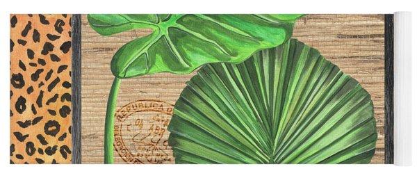 Tropical Palms 1 Yoga Mat