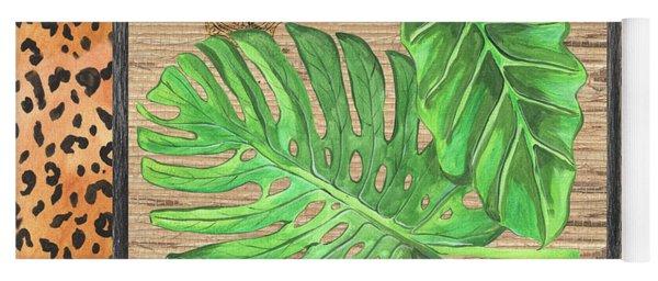 Tropical Palms 2 Yoga Mat