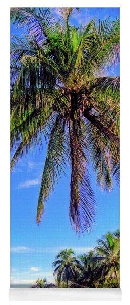 Tropical Palms Yoga Mat