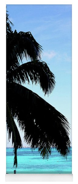 Tropical Sea View From Patio Yoga Mat