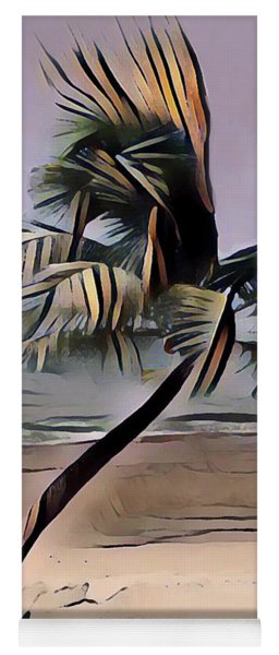Tropical Seascape Digital Art A7717  Yoga Mat