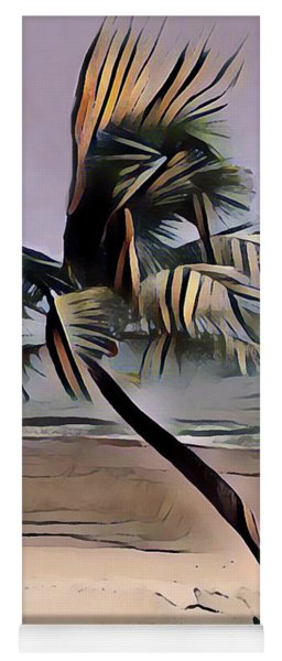 Tropical Seascape Digital Art A7717l Yoga Mat