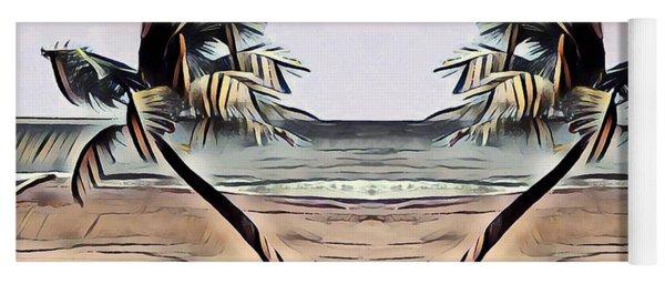Tropical Seascape Digital Art B7717 Yoga Mat