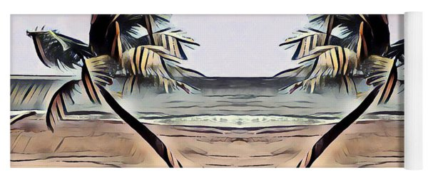 Tropical Seascape Digital Art B7717 Yoga Mat