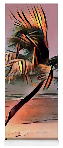 Tropical Seascape Digital Art E7717 Yoga Mat