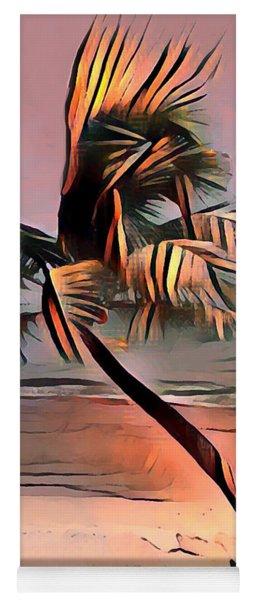 Tropical Seascape Digital Art E7717l Yoga Mat