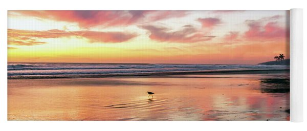 Tropical Sunset Island Bliss Seascape C8 Yoga Mat
