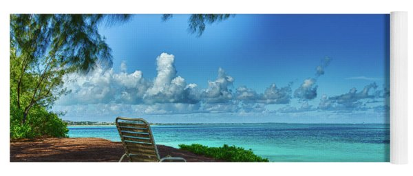 Tropical View Yoga Mat