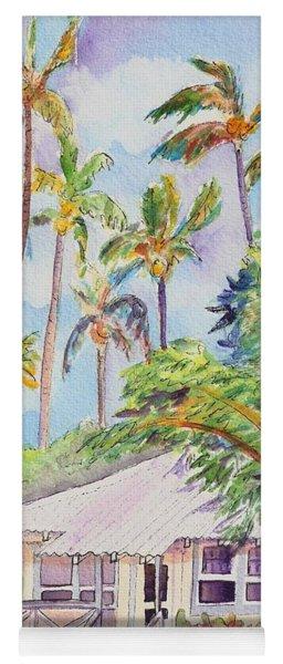Tropical Waimea Cottage Yoga Mat