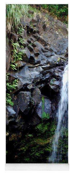 Tropical Waterfall Yoga Mat