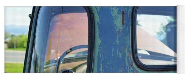 Truck Windows And Rust Yoga Mat