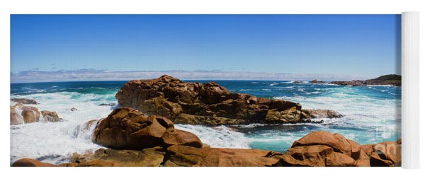 True Blue Aussie Coastline Yoga Mat