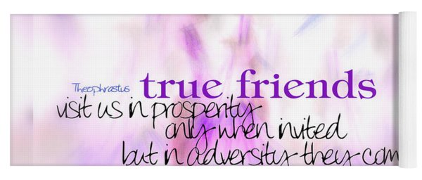 True Friends Yoga Mat