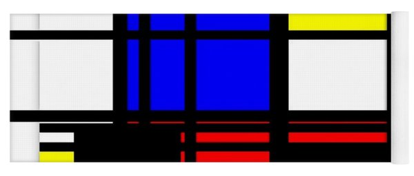 True Mondrian Yoga Mat