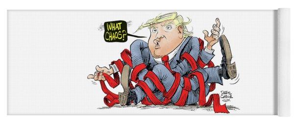 Trump Chaos Yoga Mat