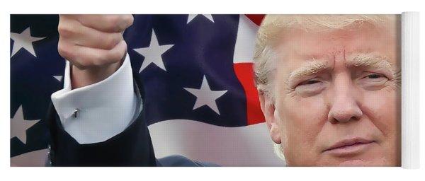 Trump Thumbs Up 2016 Yoga Mat