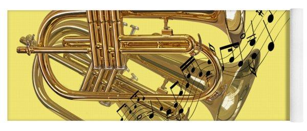 Trumpet Fanfare Yoga Mat
