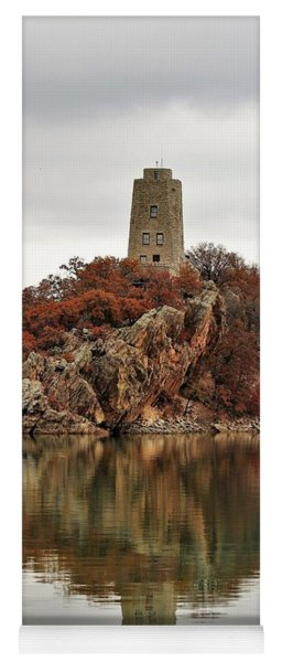 Tucker Tower And Reflection Yoga Mat