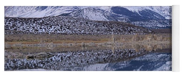 Tufa Dawn Winter Dreamscape Yoga Mat