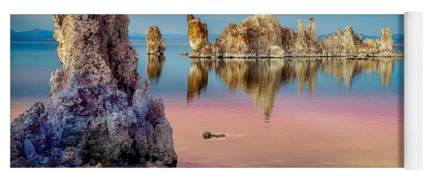 Tufas At Mono Lake Yoga Mat
