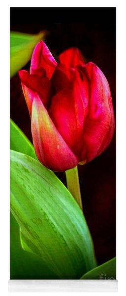 Tulip Caught In The Light Yoga Mat