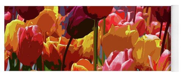Tulip Confusion Yoga Mat