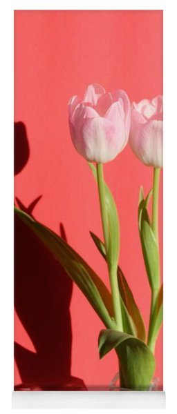 Tulips Casting Shadows Yoga Mat